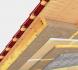 zateplení střechy přírodní izolací a parobrzda z papíru