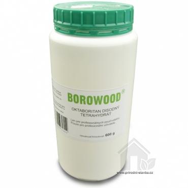 BOROWOOD borová sůl, ekologická impregnace dřeva / 600 g