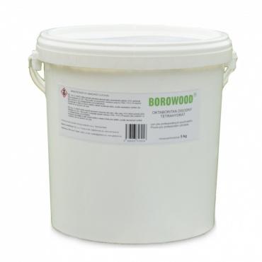 BOROWOOD borová sůl, ekologická impregnace dřeva / 5 Kg