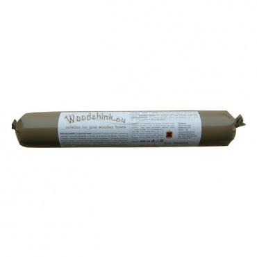 WOODCHINK tmel pro utěsnění spár roubenky, srubu 600 ml tmavě hnědý
