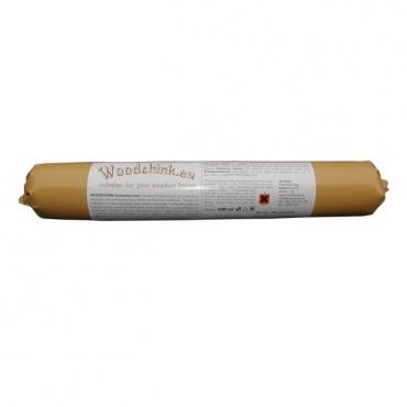 WOODCHINK tmel pro utěsnění spár roubenky, srubu 600 ml žlutohnědý