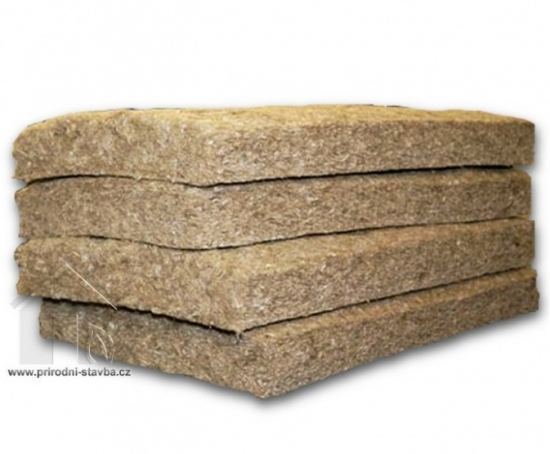 Lněná izolace NATURIZOL rohož 80x600x1200 mm