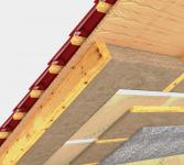 Zateplení střechy - pod krokevní