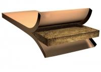 EKOPANEL E40 - slaměný lisovaný panel, konstrukční deska, šířka 80 cm