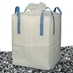 Pěnové sklo - izolace z recyklovaného skla - drť / štěrk big bag 1 m3 fr. 4-16 mm